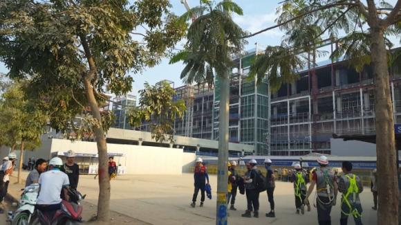 Tai nạn tại công trường nhà máy Samsung Bắc Ninh, nhiều công nhân nhập viện