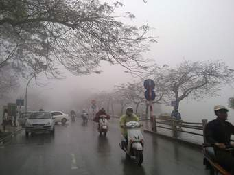 Dự báo thời tiết ngày 08/01: Các tỉnh Bắc Bộ nguy cơ xảy ra mưa trên diện rộng