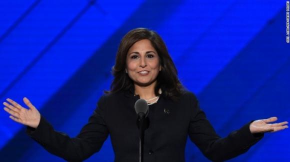 Bà Neera Tanden, Chủ tịch Trung tâm Tiến bộ Mỹ. (Ảnh: Getty)