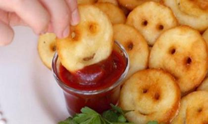 Cách làm bánh khoai tây hình mặt cười đơn giản nhất