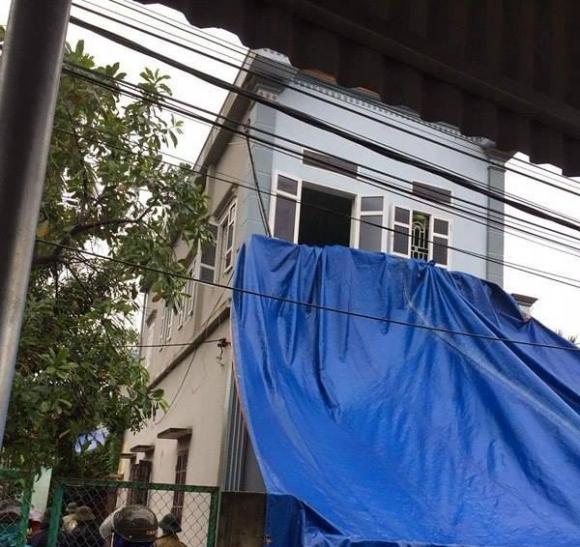 Căn nhà nơi xảy ra vụ án mạng thương tâm.
