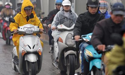 Tin thời tiết ngày 12/1: Bắc Bộ mưa dầm, Nam Bộ nắng nóng