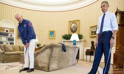 Khoảnh khắc đời thường bình dị của Obama trong 2 nhiệm kỳ