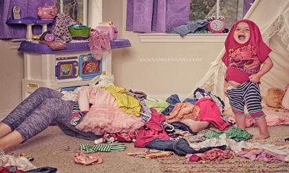 Bộ ảnh chân thực về 'Một ngày của mẹ'