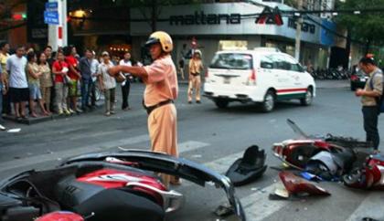 23 người thiệt mạng vì tai nạn giao thông ngày đầu năm