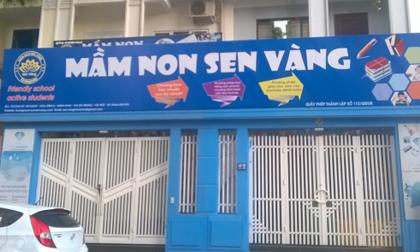 Bộ GD&ĐT 'ra tay' vụ trẻ tại trường mầm non Sen Vàng bị bạo hành