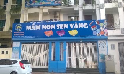 Trường mầm non Sen Vàng tuyên bố giải thể sau vụ cô giáo bạo hành trẻ