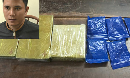 Tin nóng tối 9/2: Nam thanh niên vận chuyển 3 bánh heroin và hơn 1.000 viên hồng