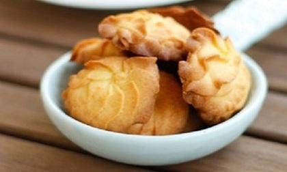 Làm bánh quy bơ thơm ngon nhâm nhi ngày cuối tuần