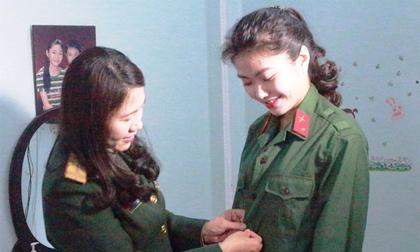 Thiếu nữ xứ Thanh tốt nghiệp 2 trường đại học vẫn đăng ký nhập ngũ vì đam mê