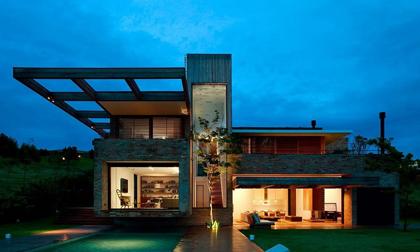Ngôi nhà đẹp đến 'phát hờn' giữa chốn đồng quê yên bình