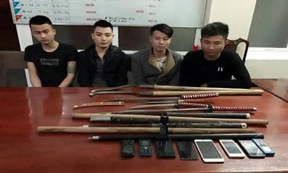 """Hà Tĩnh: Cảnh sát 113 nổ súng """"dẹp"""" 2 nhóm côn đồ dùng hung khí hỗn chiến"""