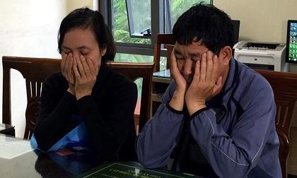Cặp vợ chồng trốn truy nã bị bắt sống trong nhà nghỉ