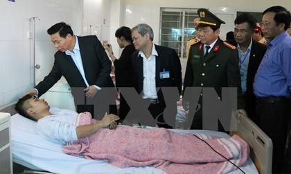 Sức khỏe 12 nạn nhân vụ nổ xe khách tại Bắc Ninh đã dần bình phục