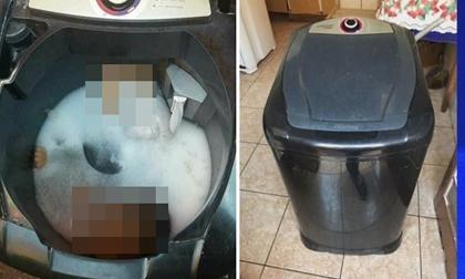 Người lớn bất cẩn, bé trai 2 tuổi chết tức tưởi trong máy giặt