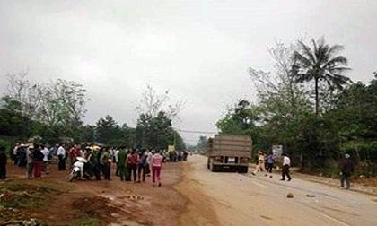Xe biển số Lào gây tai nạn, thai phụ và con gái tử vong tại chỗ