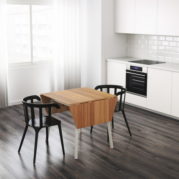 4 mẫu bàn ăn nhỏ nhưng có võ, cực dễ kiếm và dễ ứng dụng cho nhà chật - Ảnh 2.