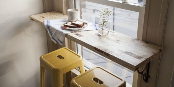 4 mẫu bàn ăn nhỏ nhưng có võ, cực dễ kiếm và dễ ứng dụng cho nhà chật - Ảnh 5.
