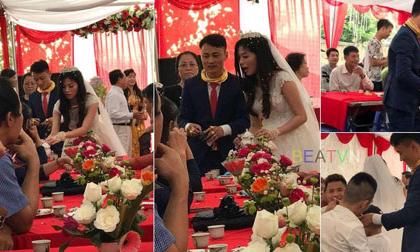 Choáng với đám cưới chú rể đeo kiềng kín cổ, nhẫn kín tay hết phần cô dâu