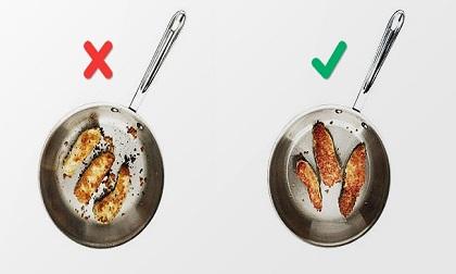 Bất ngờ với 10 lỗi cơ bản ai cũng mắc phải khi nấu ăn