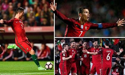 Ronaldo: 'Đầu máy vạn năng' phá vỡ mọi giới hạn