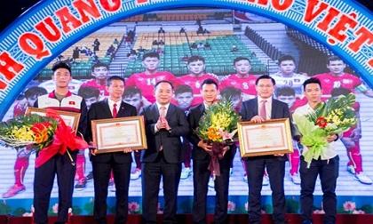 Tôn vinh những gương mặt thể thao Việt Nam xuất sắc