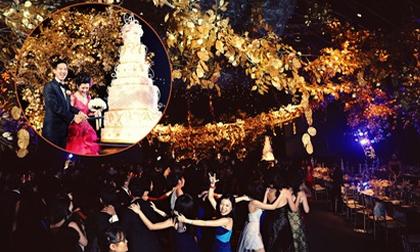 Những đám cưới xa hoa tiền tỷ của các cặp đôi 'lắm tiền nhiều của' Singapore