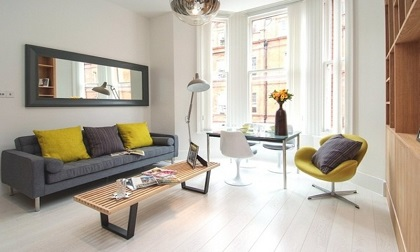 Xám và vàng – Sự kết hợp hoàn hảo trong thiết kế nội thất