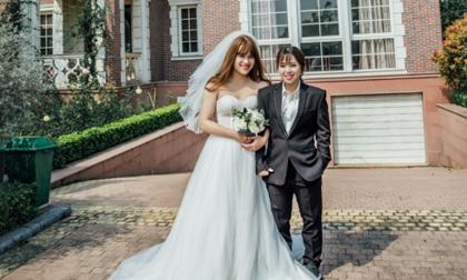 Bộ ảnh cưới mang phong cách hoán đổi đầy thú vị của cặp đôi 9X