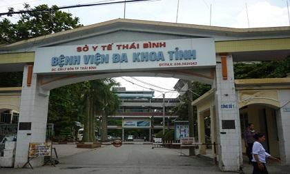 Nam bệnh nhân ở Bệnh viện tỉnh Thái Bình tử vong do rơi từ tầng 8