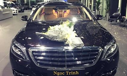 Ngọc Trinh tậu siêu xe Mercedes-Maybach S500 12 tỷ đồng