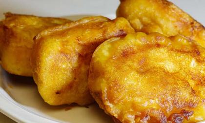 Cách làm bánh chuối chiên giòn rụm, ăn mãi không ngán