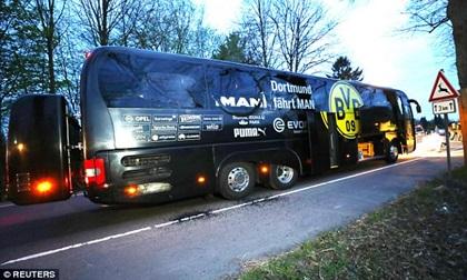 Khủng bố lên tiếng nhận trách nhiệm vụ đánh bom xe bus chở các cầu thủ và ban huấn luyện Borussia Dortmund
