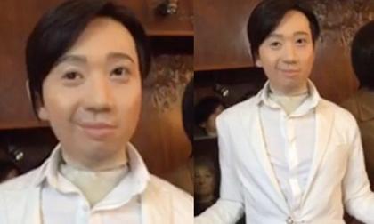 Tượng sáp mới của Trấn Thành khiến fan choáng váng