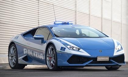 Choáng với bộ sưu tập siêu xe của cảnh sát thế giới