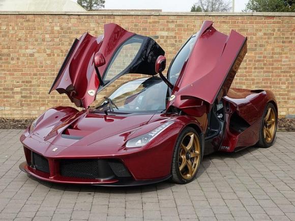 Kinh ngạc siêu xe LaFerrari đỏ đặc biệt giá 77 tỷ đồng - 1