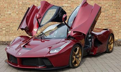 Kinh ngạc siêu xe LaFerrari đỏ đặc biệt giá 77 tỷ đồng