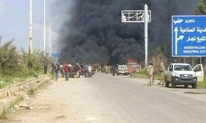Đánh bom xe chở người sơ tán ở Syria, ít nhất 100 người thiệt mạng