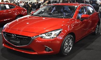 Giá xe ô tô: Mazda2 2017 344 triệu đồng sắp về Việt Nam