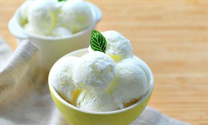 Tự làm kem sữa chua mát lạnh không cần máy