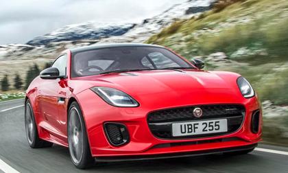 Jaguar F-Type 2018: Xe thể thao 'giá mềm' 1,4 tỷ đồng