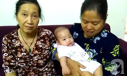 Hà Nội: Bé 6 tháng tuổi bất ngờ bị bỏ rơi ở tầng 9 tòa nhà