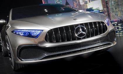 Xe sang Mercedes Concept A Sedan: Phiên bản sedan mới của A