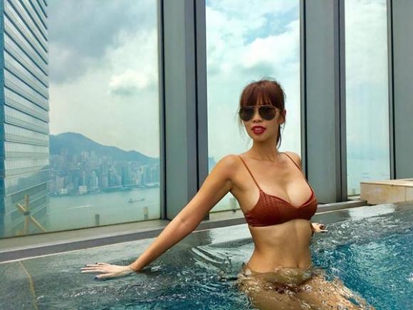 Ảnh mặc bikini hiếm hoi của Đặng Thu Thảo, Huyền My - Ảnh 9.