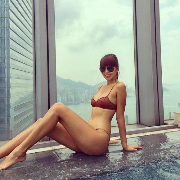 Ảnh mặc bikini hiếm hoi của Đặng Thu Thảo, Huyền My - Ảnh 8.