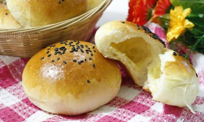 Công thức làm bánh mì nhân phô mai ngon bất bại