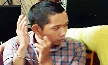 Bắt nghi phạm bịt mặt cướp 2,5 tỷ trong ngân hàng ở Trà Vinh