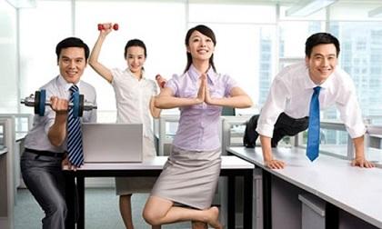 Giảm cân 'nhẹ như chơi' cho chị em văn phòng