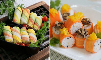 2 cách làm sushi cơm chưa bao giờ đơn giản đến thế