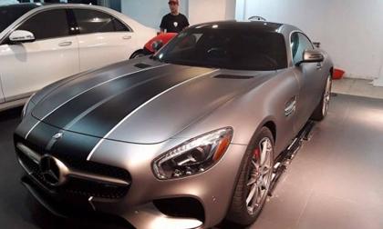 Mercedes-Benz AMG GT-S mới tậu của Cường Đô la thay 'áo mới'